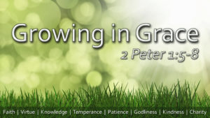 Growing In Grace – Part 5: Patience